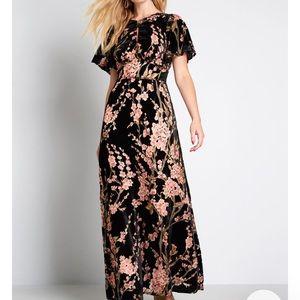 Gorgeous Velvet ModCloth dress size M